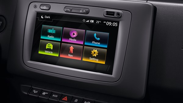 Renault DUSTER - Media Nav Evolution