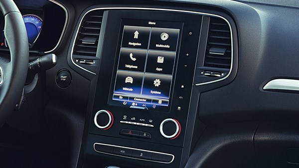 Renault MEGANE Sedan - Tablette tactile R-LINK 2